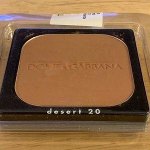 Dolce Gabbana foundation powder bronzer